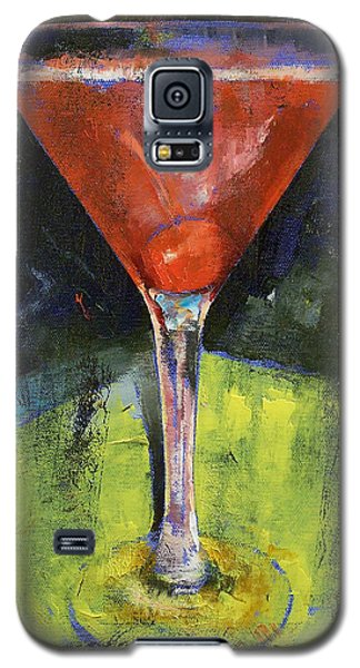Comfortable Cherry Martini Galaxy S5 Case by Michael Creese