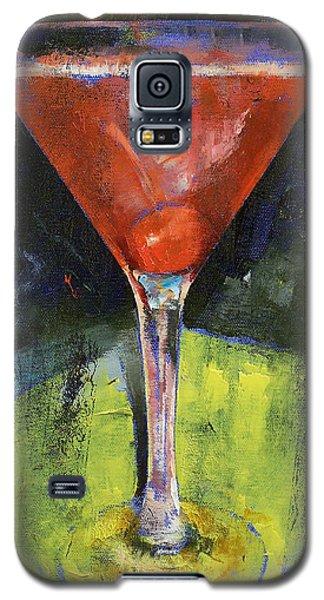Comfortable Cherry Martini Galaxy S5 Case