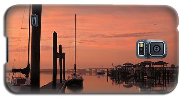 Galaxy S5 Case featuring the photograph Just Rosy by Laura Ragland