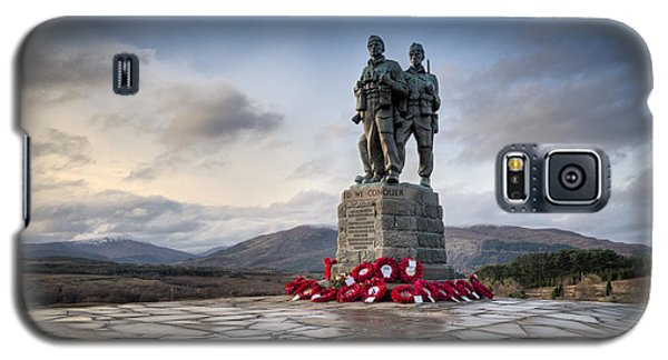 Commando Memorial At Spean Bridge Galaxy S5 Case by Gary Eason