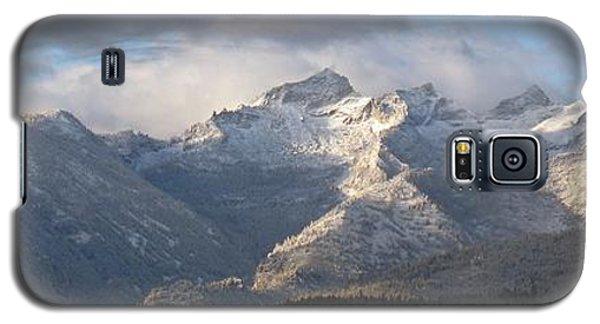 Galaxy S5 Case featuring the photograph Como Peaks Montana by Joseph J Stevens