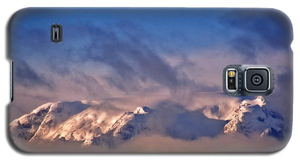 Comox Glacier And Morning Mist Galaxy S5 Case