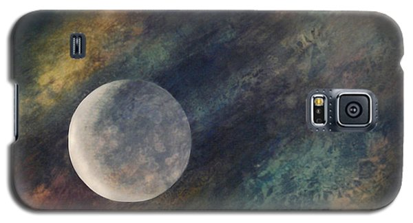 Companion Moon  Galaxy S5 Case by Ursula Freer