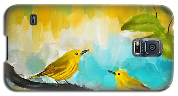 Companionship Galaxy S5 Case by Lourry Legarde