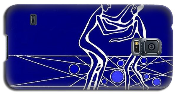 Galaxy S5 Case featuring the painting Compassion by Hartmut Jager