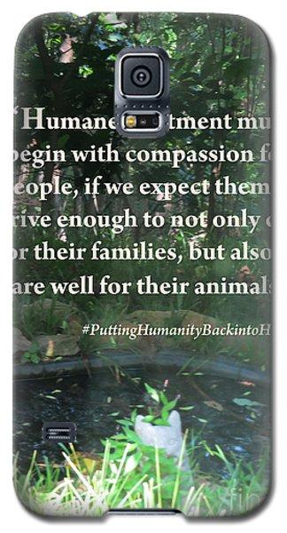 Compassion Quote Galaxy S5 Case