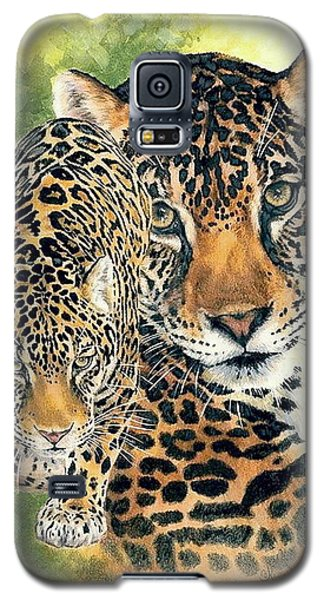 Galaxy S5 Case featuring the mixed media Compelling by Barbara Keith