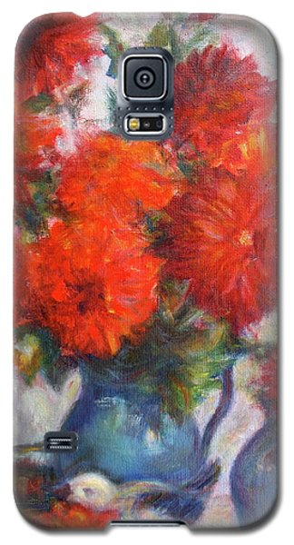 Complementary - Original Impressionist Painting - Still-life - Vibrant - Contemporary Galaxy S5 Case