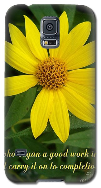 Completion Galaxy S5 Case by Sara  Raber