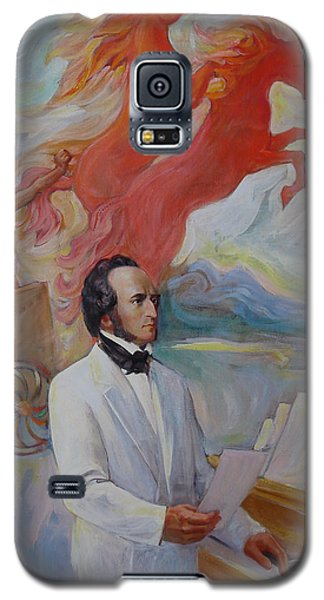 Composer Felix Mendelssohn Galaxy S5 Case