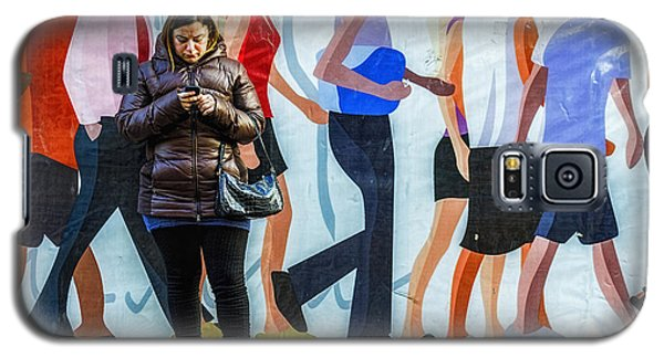 Composition Of Figures Galaxy S5 Case