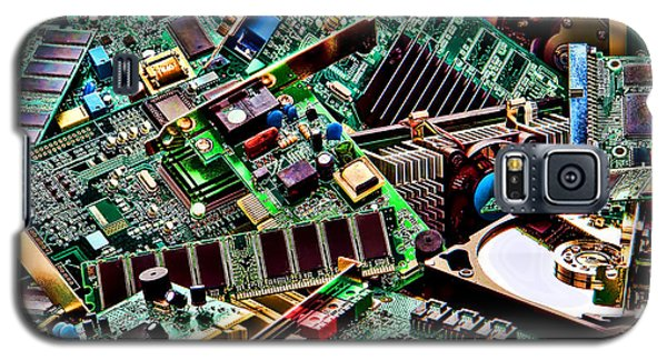 Computer Parts Galaxy S5 Case