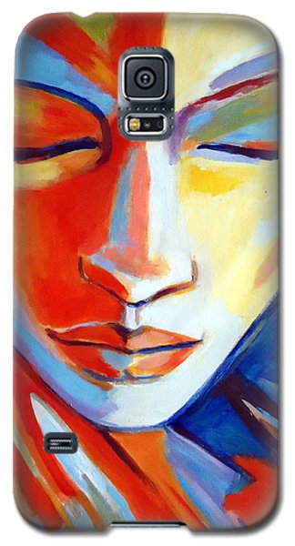 Galaxy S5 Case featuring the painting Concealed Desires by Helena Wierzbicki