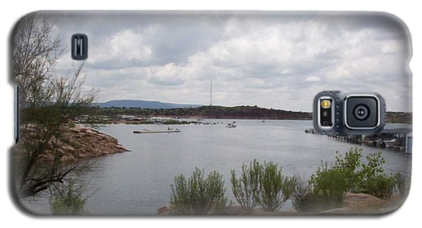 Galaxy S5 Case featuring the photograph Conchas Dam by Sheri Keith