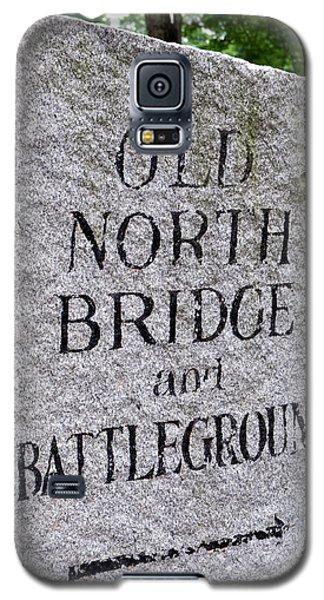 Concord Ma Old North Bridge Marker Galaxy S5 Case