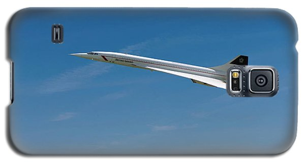 Concorde At Harvest Time Galaxy S5 Case by Paul Gulliver