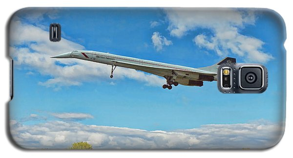 Concorde On Finals Galaxy S5 Case by Paul Gulliver