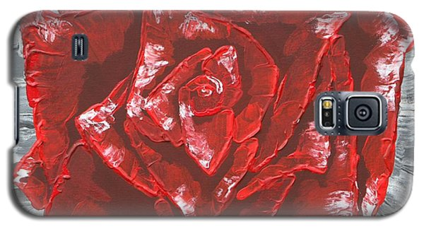 Concrete Rose  Galaxy S5 Case