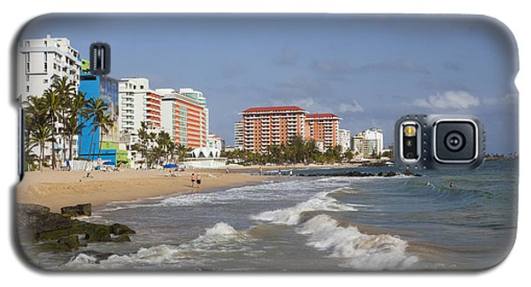 Condado Beach San Juan Puerto Rico Galaxy S5 Case