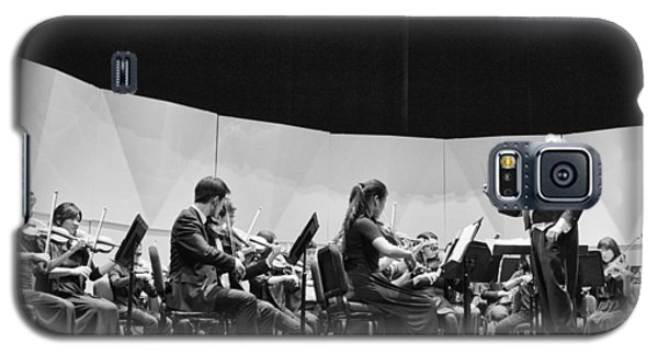 Galaxy S5 Case featuring the photograph Conductor Jeff Edmons by Hugh Smith