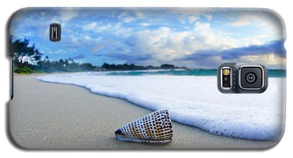Beach Galaxy S5 Case - Cone Foam by Sean Davey