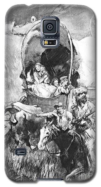 Conestoga Wagons 1890 Galaxy S5 Case by Padre Art
