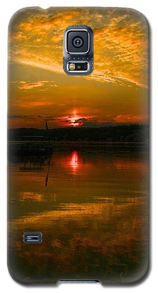 Conesus Sunrise Galaxy S5 Case