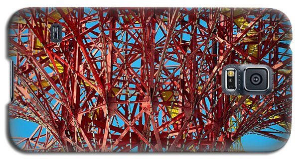 Coney Island Abstract Expressionist Galaxy S5 Case