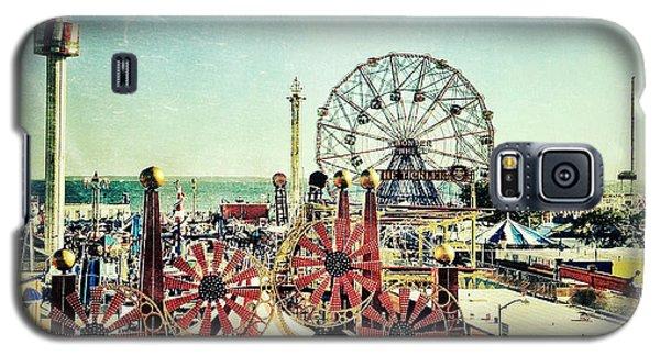 Coney Island Amusement Galaxy S5 Case