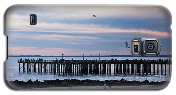 Coney Island Pier Galaxy S5 Case