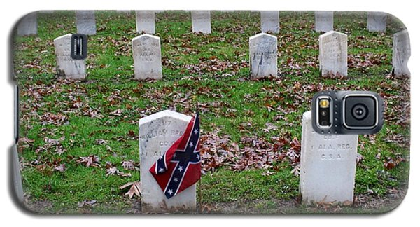 Confederate Flag Madison Wisconsin Cemetery Galaxy S5 Case