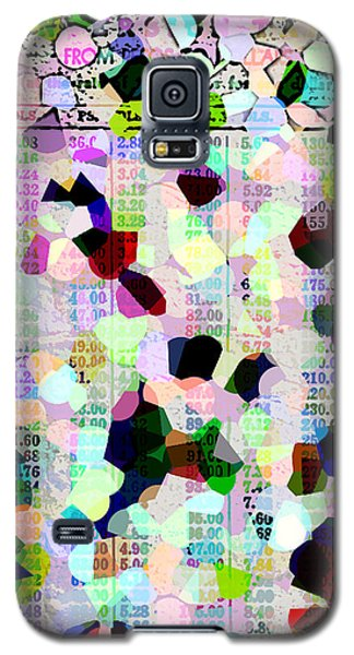 Confetti Table Galaxy S5 Case by Ecinja Art Works