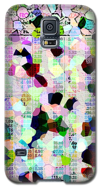 Galaxy S5 Case featuring the photograph Confetti Table by Ecinja Art Works