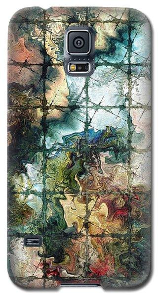 Galaxy S5 Case featuring the digital art Confined by Kim Redd