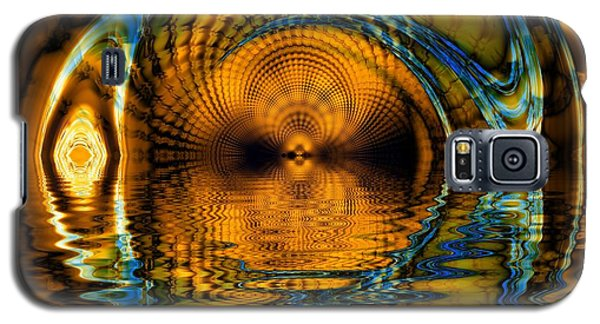 Confusion Of Distortion  Galaxy S5 Case by Elizabeth McTaggart