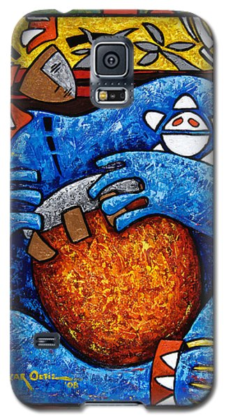 Conga On Fire Galaxy S5 Case