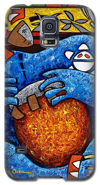 Conga On Fire Galaxy S5 Case