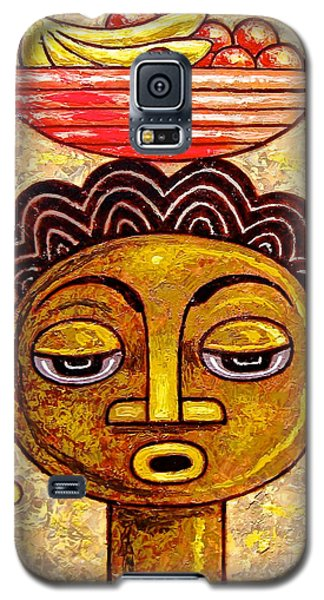 Congalese Face 1 Galaxy S5 Case