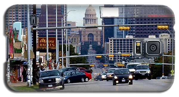 Galaxy S5 Case featuring the photograph Congress Ave To The Capital by James Granberry