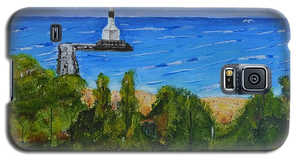 Summer, Conneaut Ohio Lighthouse Galaxy S5 Case by Melvin Turner