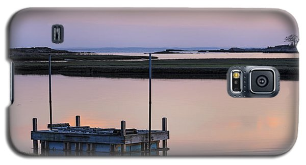 Connecticut Backwaters Sunset With Dock Series 4 Galaxy S5 Case