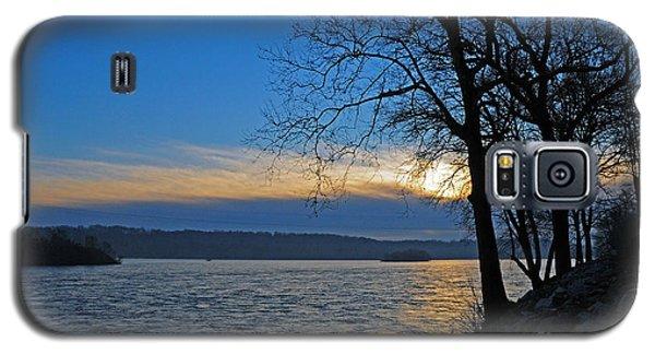 Galaxy S5 Case featuring the photograph Conowingo Sunrise by Olivia Hardwicke
