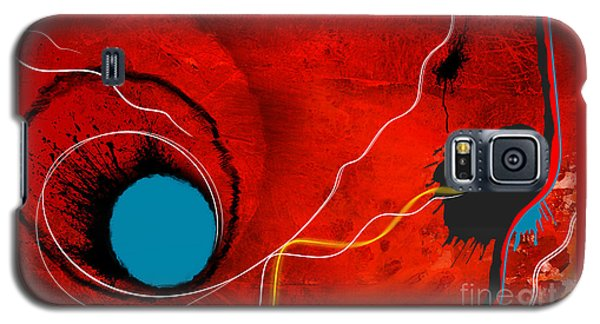 Consciousness Of The Inanimate Galaxy S5 Case by Paul Davenport