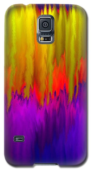 Galaxy S5 Case featuring the mixed media Consciousness Rising by Carl Hunter