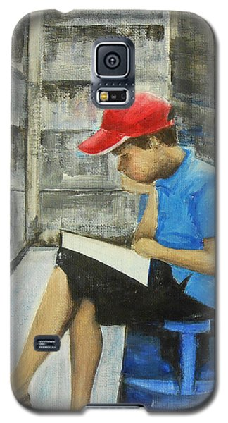 Constant Never-ending Improvement Galaxy S5 Case by Jane See