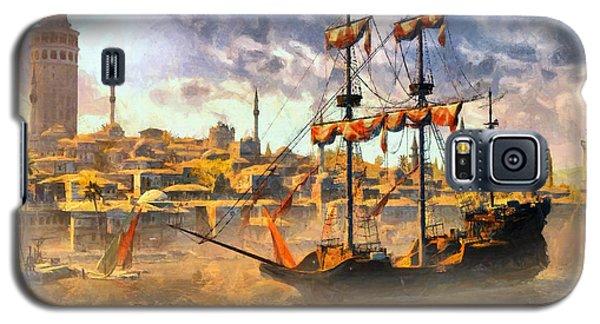 Galaxy S5 Case featuring the digital art Constantinopoli Anno Domini 1533 by Kai Saarto