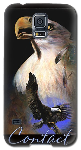 C O N T A C T   Galaxy S5 Case by Brooks Garten Hauschild