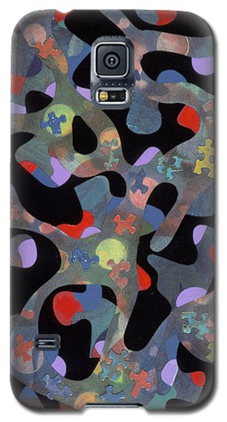 contemporary abstract art - Inside Outside Galaxy S5 Case