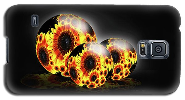 Contemporary Garden Galaxy S5 Case by Cathy  Beharriell