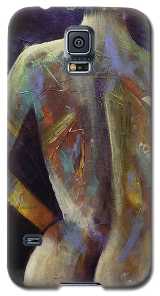 Contemporary Nude Woman Portrait Expressionist Style Galaxy S5 Case